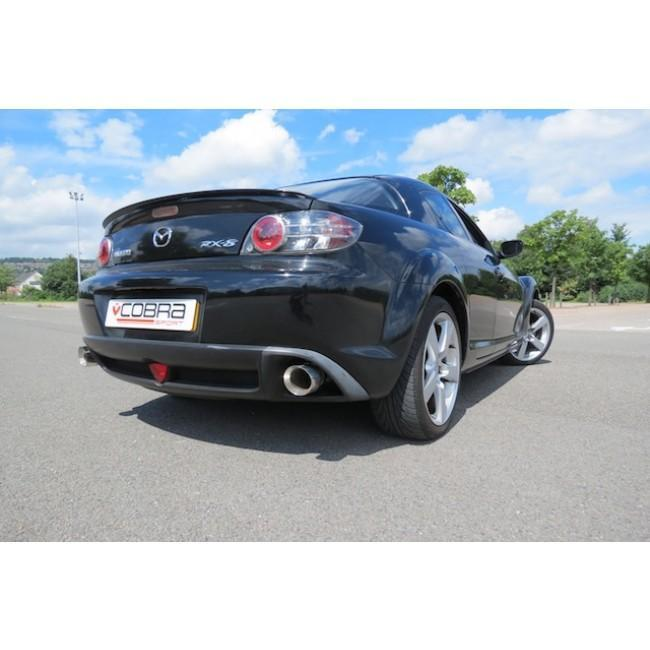 Mazda RX8 Cat Back Sports Exhaust