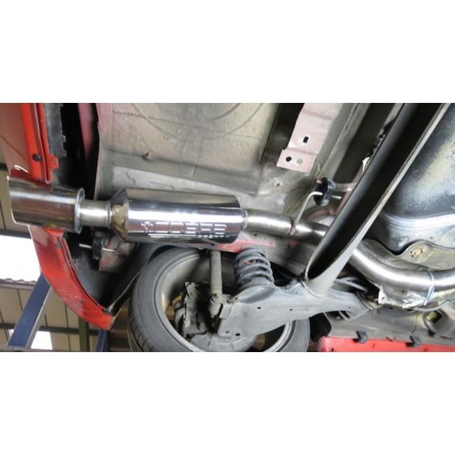 Vauxhall Corsa D 1.6 SRI (10-14) Cat Back Performance Exhaust