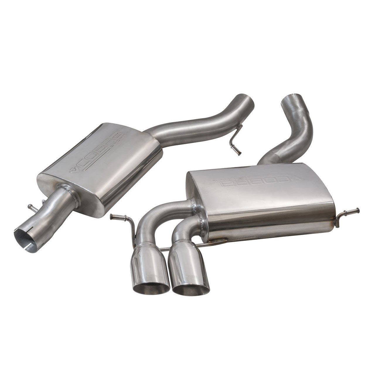 Audi A3 (8P) 3.2 V6 Quattro Cat Back Performance Exhaust
