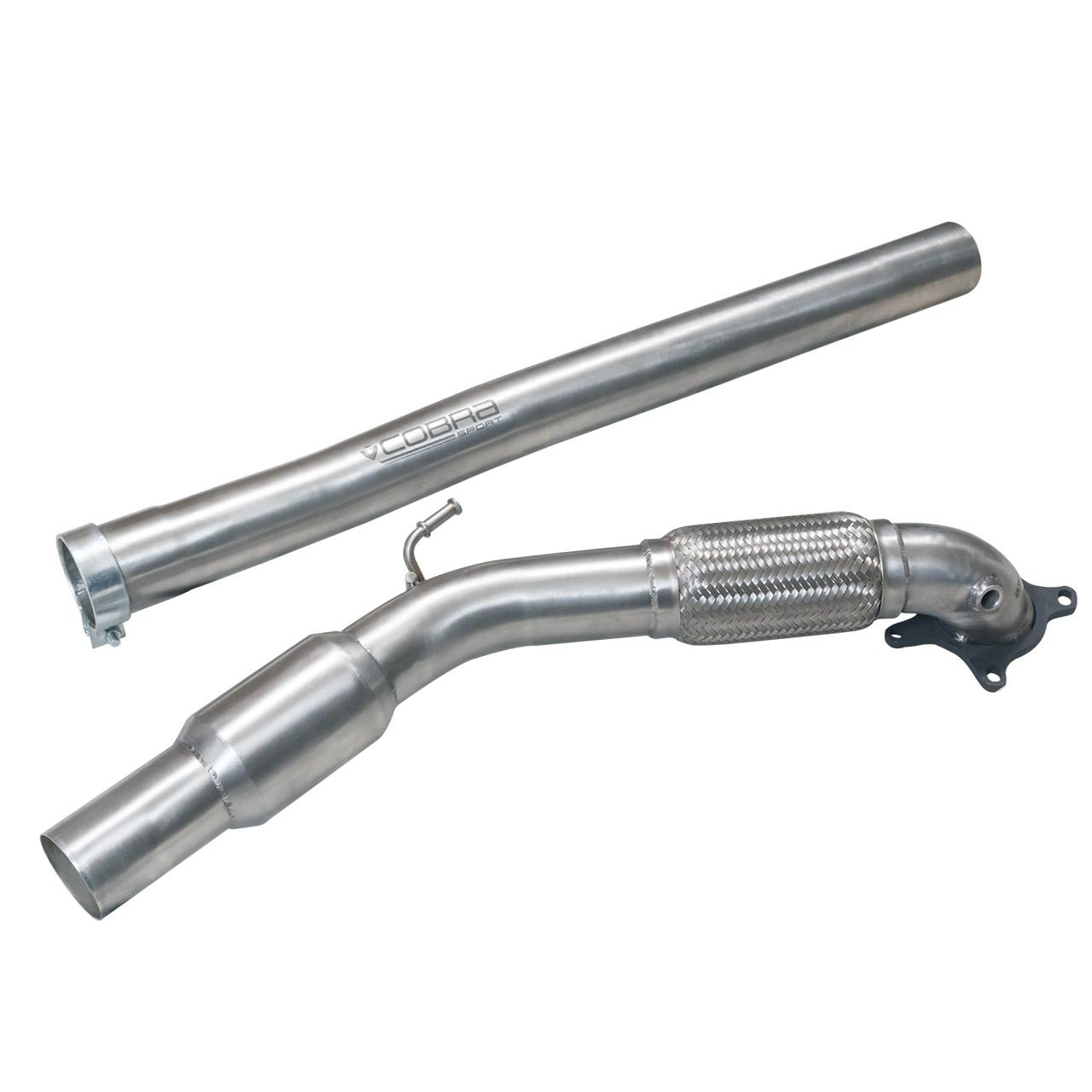 Audi A3 (8P) 2.0 TFSI 2WD (3 & 5 Door) Front Pipe Sports Cat / De-Cat Performance Exhaust