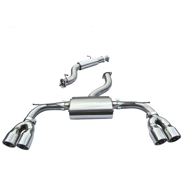 Audi S3 (8V) 3 door (Non-Valved) Cat Back Performance Exhaust