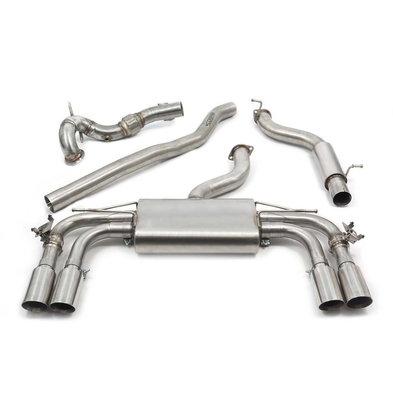 Audi S3 (8V) Saloon (Valved) Turbo Back Performance Exhaust