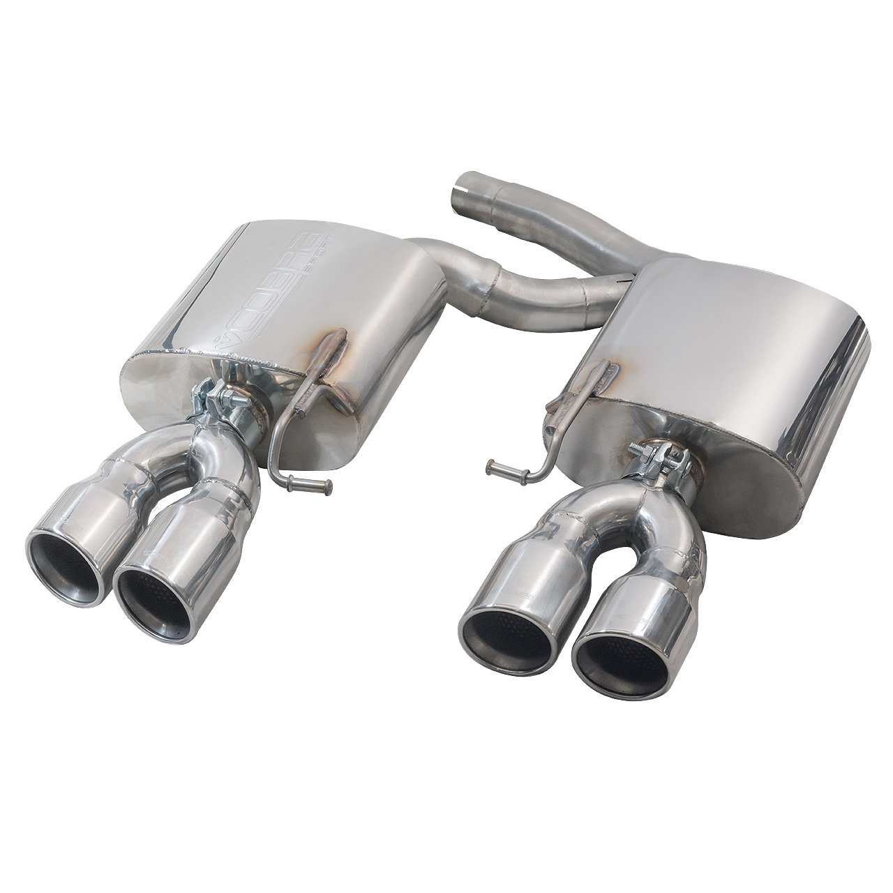 Audi S5 3.0 TFSI (B8/8.5) Coupe & Cabriolet Rear Box Section Performance Exhaust