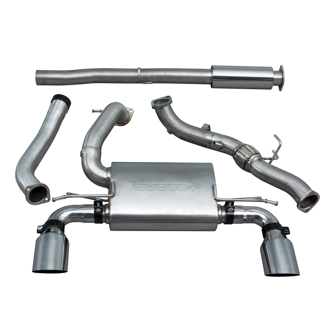 Ford Focus RS (MK3) Turbo Back Performance Exhaust