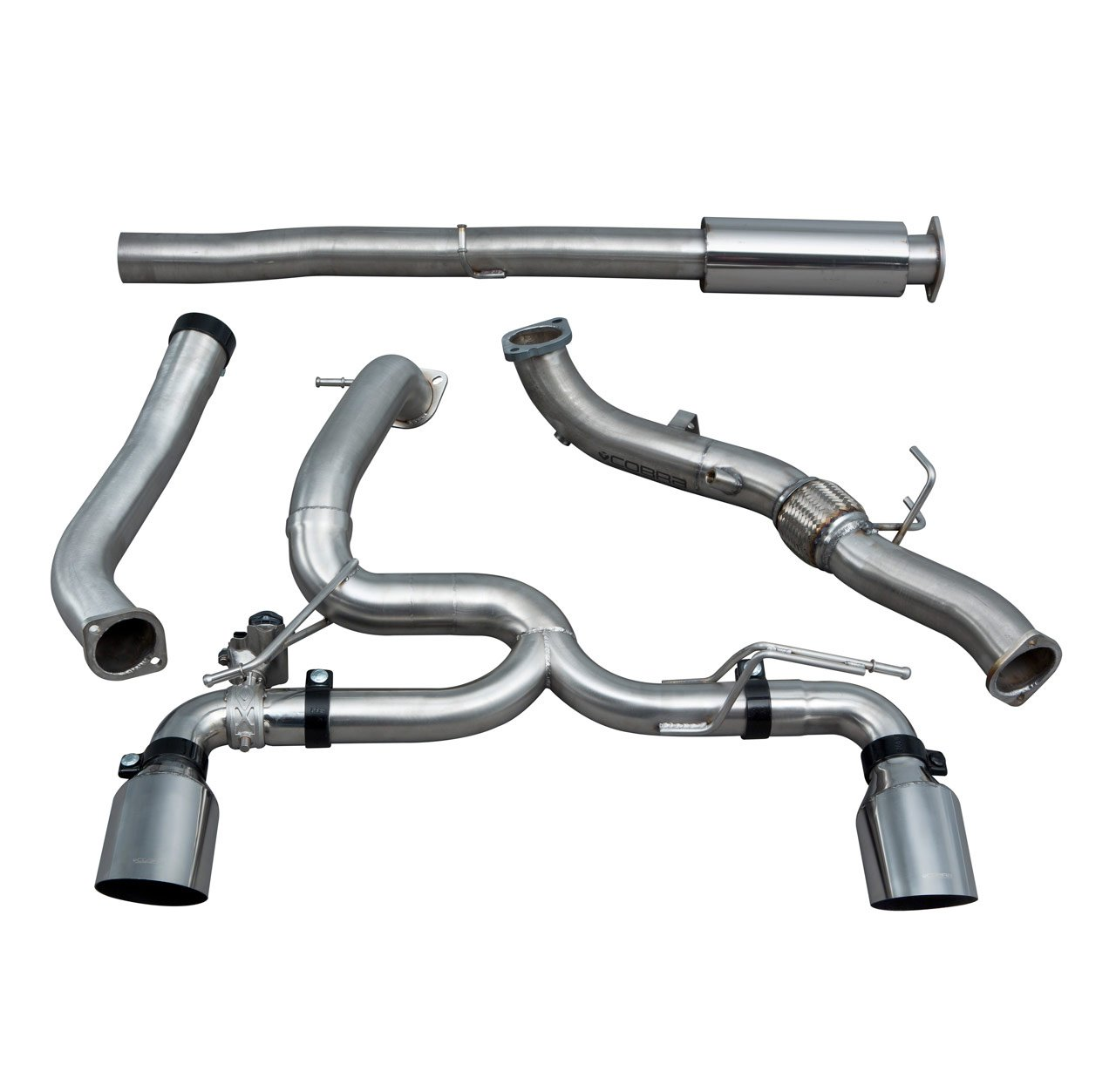 Ford Focus RS (MK3) Venom Box Delete Race Turbo Back Performance Exhaust