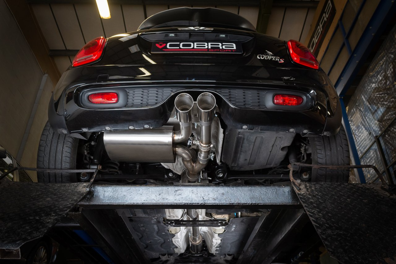 "Mini (Mk3) Cooper S / JCW (F56 LCI) Facelift 3"" Valved Cat Back Performance Exhaust"