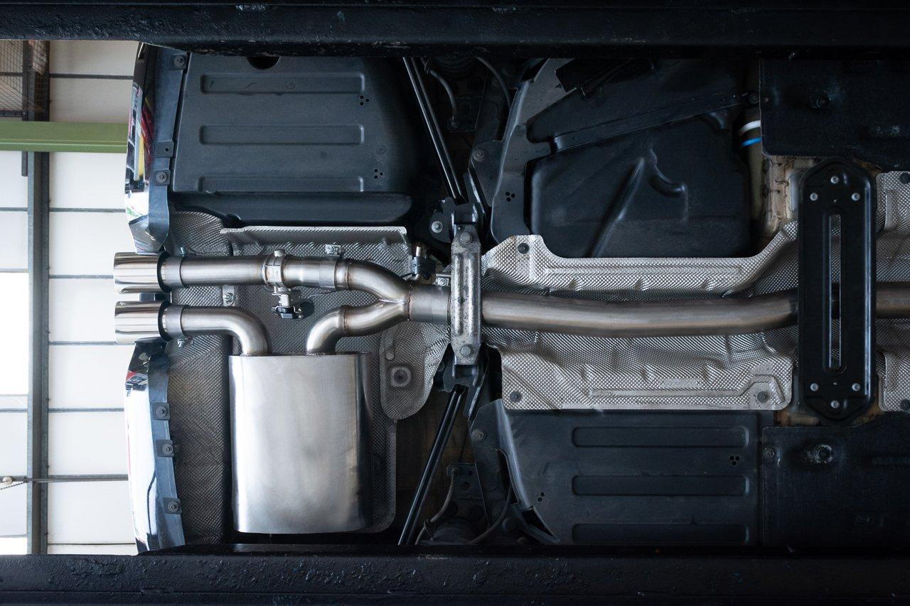 "Mini (Mk3) Cooper S / JCW (F56) 3"" Valved Cat Back Performance Exhaust"