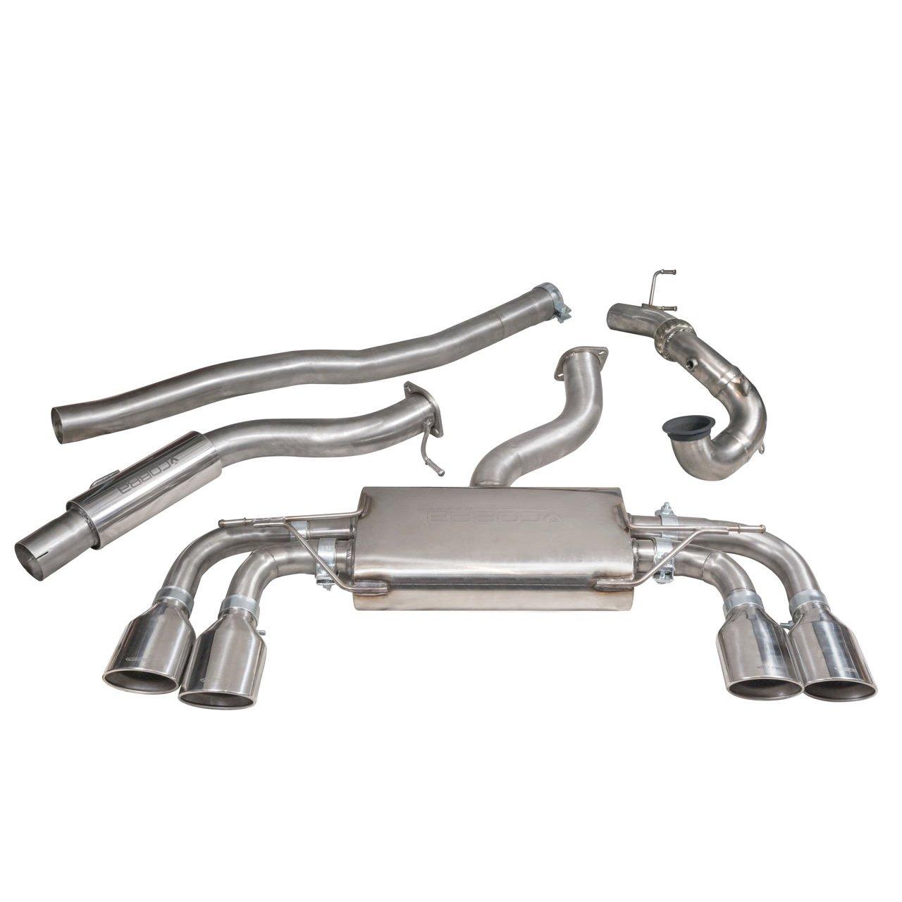 VW Golf R (Mk7) 2.0 TSI (5G) (12-18) Turbo Back Performance Exhaust