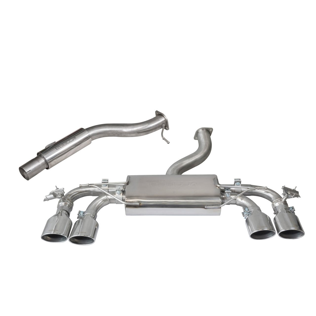 VW Golf R (Mk7.5) 2.0 TSI (5G) (18>) Cat Back Performance Exhaust
