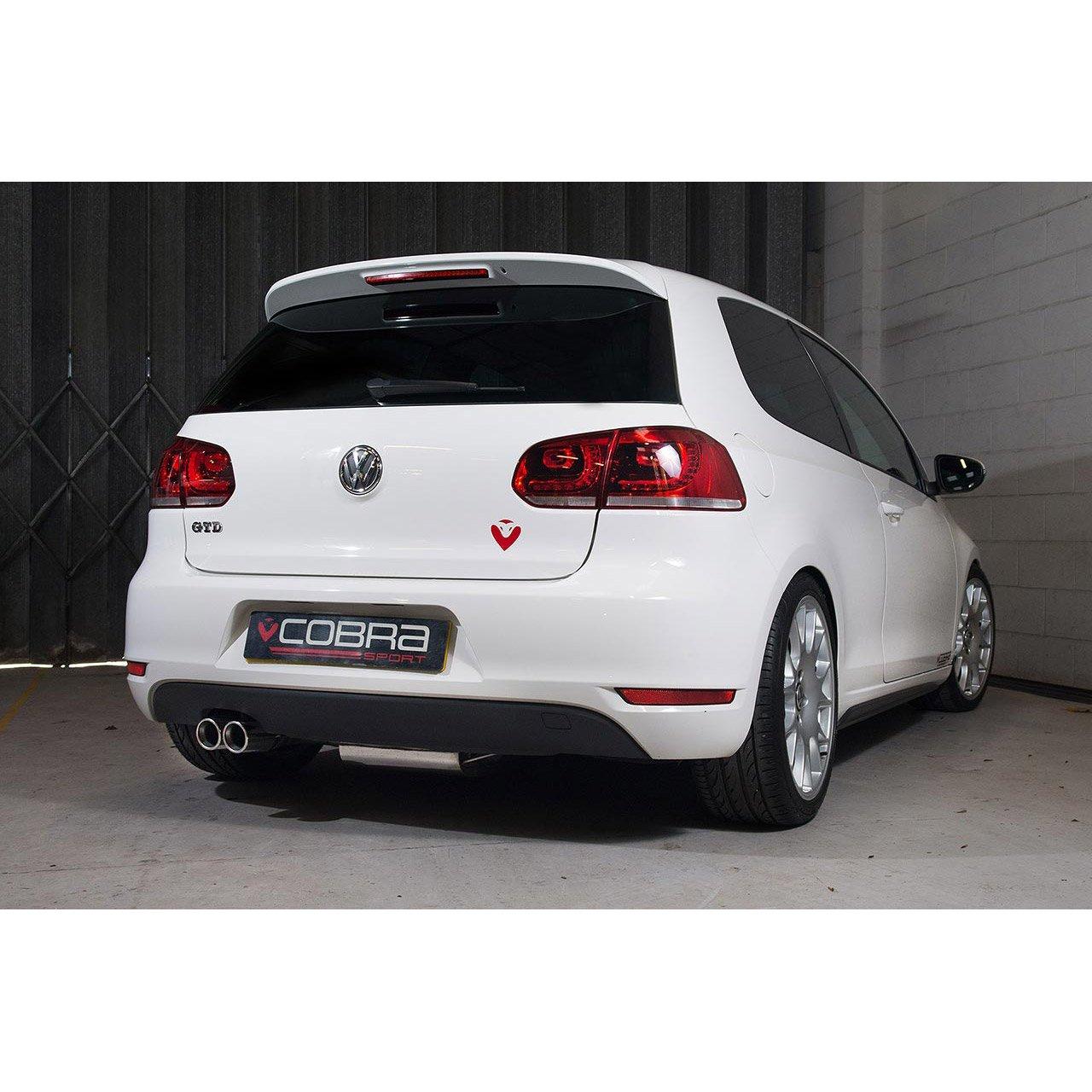 VW Golf GT (MK6) 2.0 TDi 140PS (5K) (09-13) Cat Back Performance Exhaust