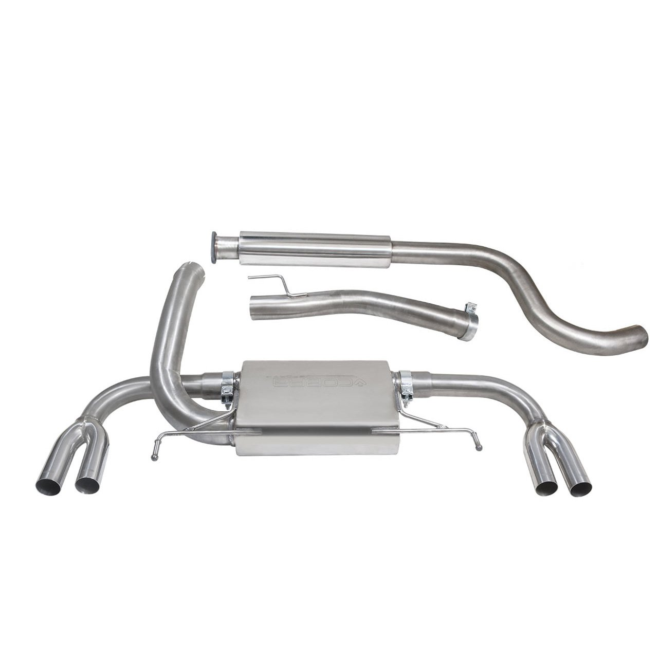 Vauxhall Astra J VXR (12-19) Cat Back Sports Exhaust System