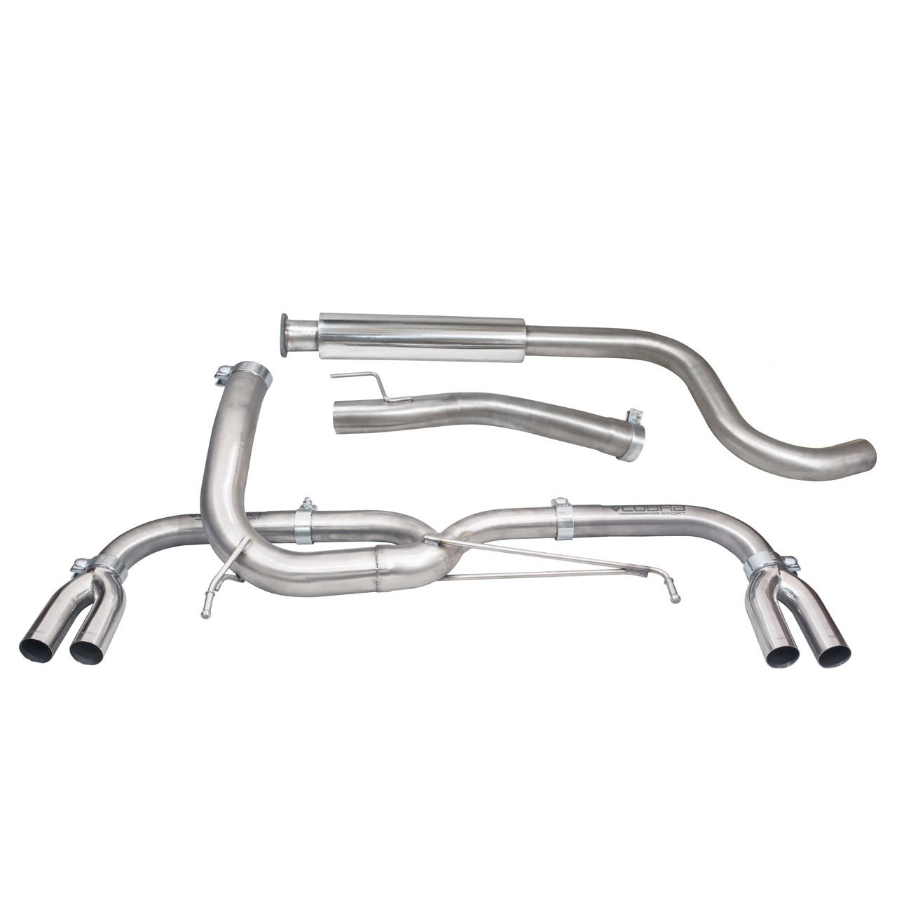 Vauxhall Astra J VXR (12-19) Venom Box Delete Cat Back Performance Exhaust