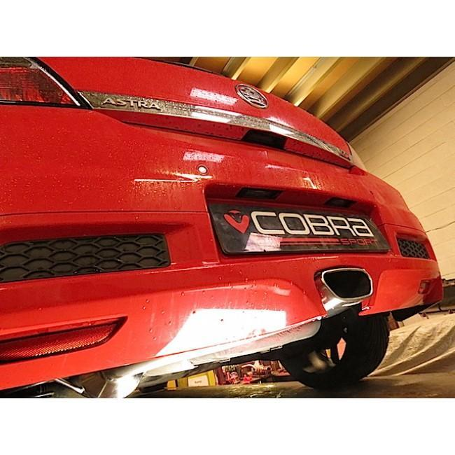 "Vauxhall Astra H VXR (05-11) 2.5"" Cat Back Performance Exhaust"