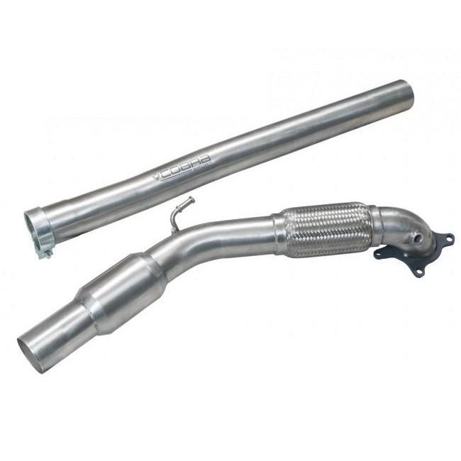 Audi A3 (8P) 2.0 TFSI Quattro (3 Door) Front Pipe Sports Cat / De-Cat Performance Exhaust