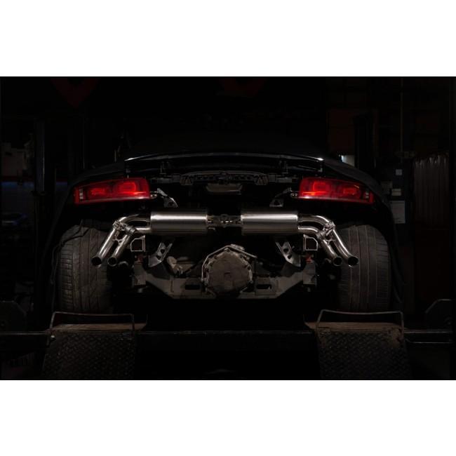 Audi R8 4.2 V8 FSI Gen 1 (Pre-Facelift) (07-13) Valved Cat Back Performance Exhaust