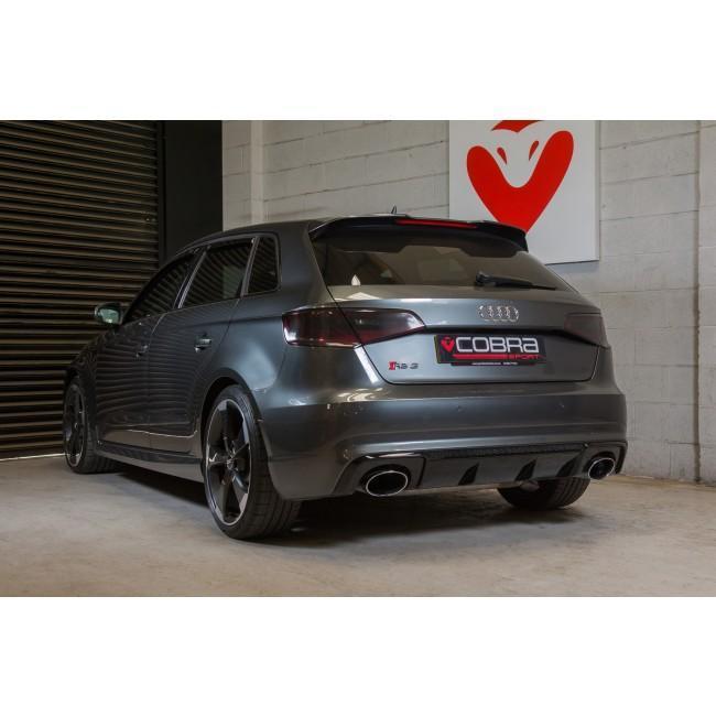 Audi RS3 (8V) Sportback (2015-17) Secondary De-Cat Bypass Performance Exhaust