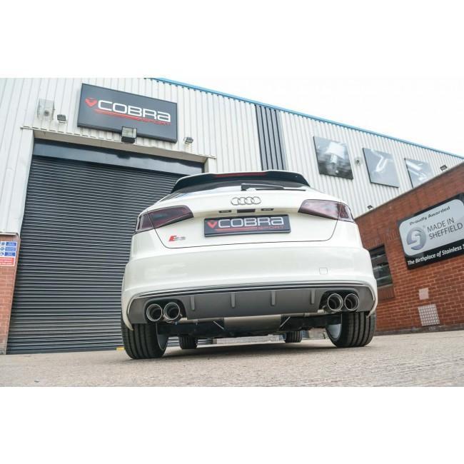 Audi S3 (8V) 5 door Sportback (Non-Valved) Cat Back Performance Exhaust