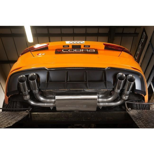 Audi S3 (8V) 3 door (Valved) Cat Back Performance Exhaust