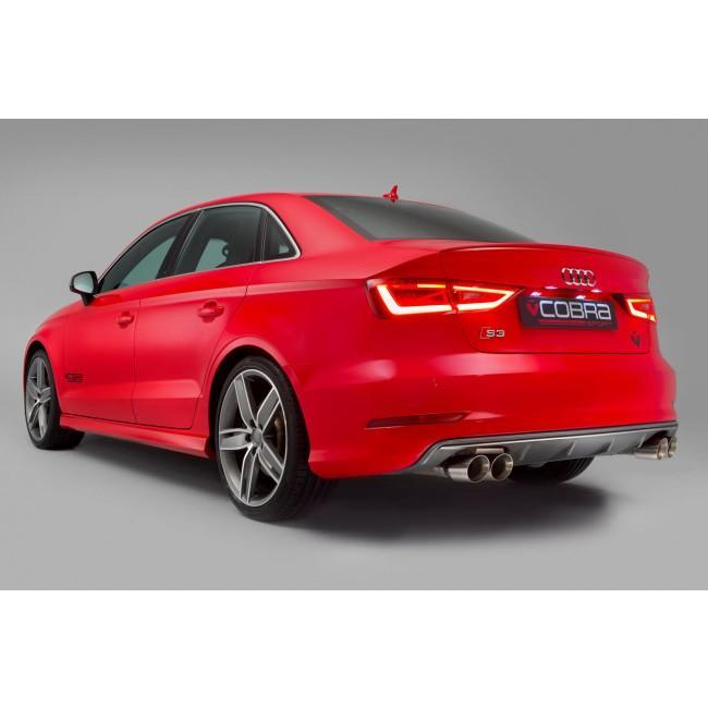 Audi S3 (8V) Saloon (Non-Valved) Turbo Back Performance Exhaust