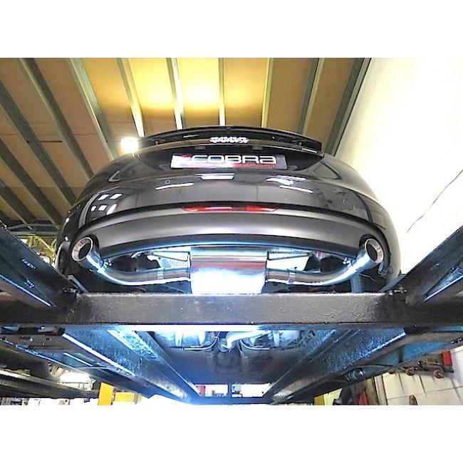 Audi TT (Mk2) 3.2 V6 Coupe (2007-11) Cat Back Performance Exhaust