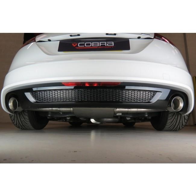 Audi TT (Mk2) 1.8/2.0 TFSI (2WD) 2011-14 Cat-Back Performance Exhaust