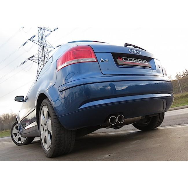 Audi A3 (8P) 3.2 V6 Quattro Cat Back Performance Exhaust