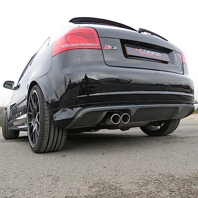 Audi S3 (8P) Quattro (3 Door) Cat Back Performance Exhaust