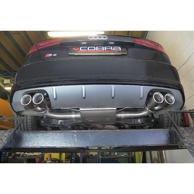 Audi S3 (8V) 3 Door (Non-Valved) Turbo Back Performance Exhaust