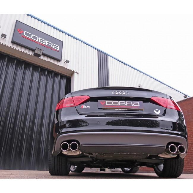 Audi S5 3.0 TFSI (B8/8.5) Coupe Cat Back Performance Exhaust