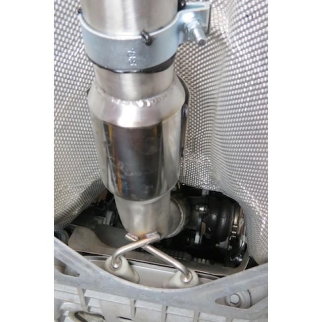 Audi TT (Mk2) 1.8/2.0 TFSI (2WD) (2007-11) Turbo Back Performance Exhaust