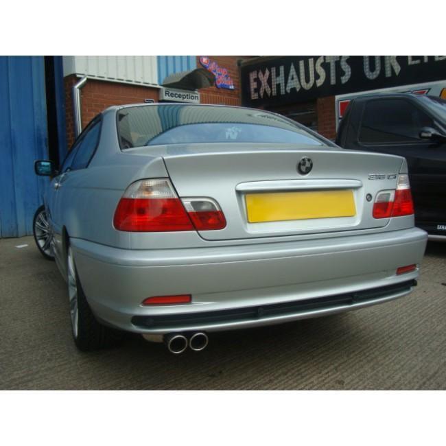 BMW 328 (E46) Rear Box Performance Exhaust