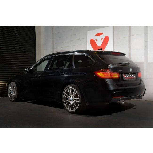 BMW 320D Diesel (F30/F31) Dual Exit 340i Style Performance Exhaust Conversion