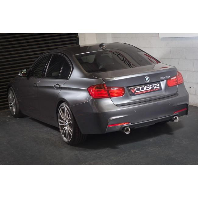BMW 335D (F30) Dual Exit 340i Style Exhaust Conversion