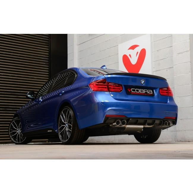 BMW 320D (F30 LCI/F31 LCI) (2015-19) Quad Exit M3 Style Performance Exhaust Conversion