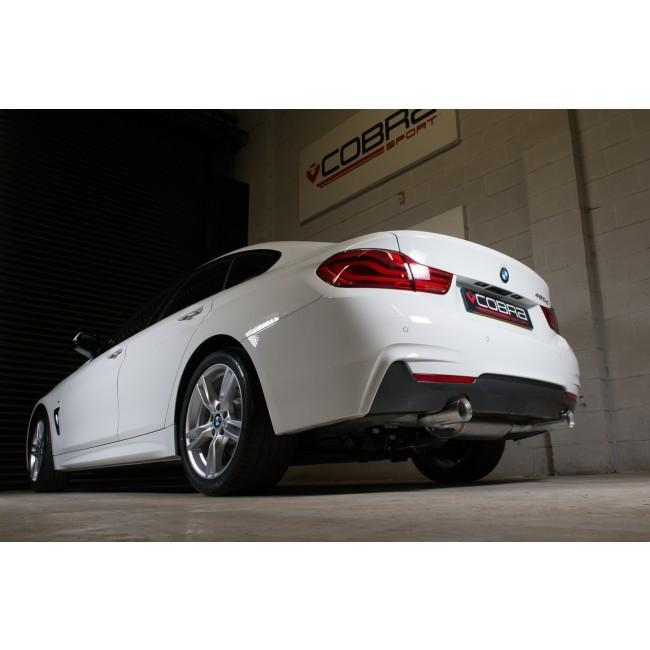 BMW 420D (F36/F36 LCI) Dual Exit 440i Style Exhaust Conversion