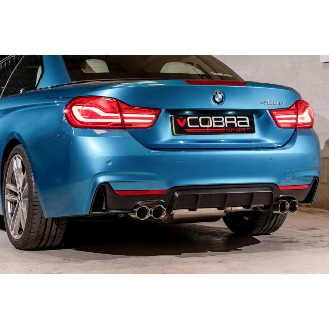 BMW 420D (F32/F33/F36) Quad Exit M4 Style Performance Exhaust Conversion