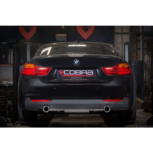 BMW 435D (F32/F33/F36) 440i Style Dual Exit Exhaust Conversion