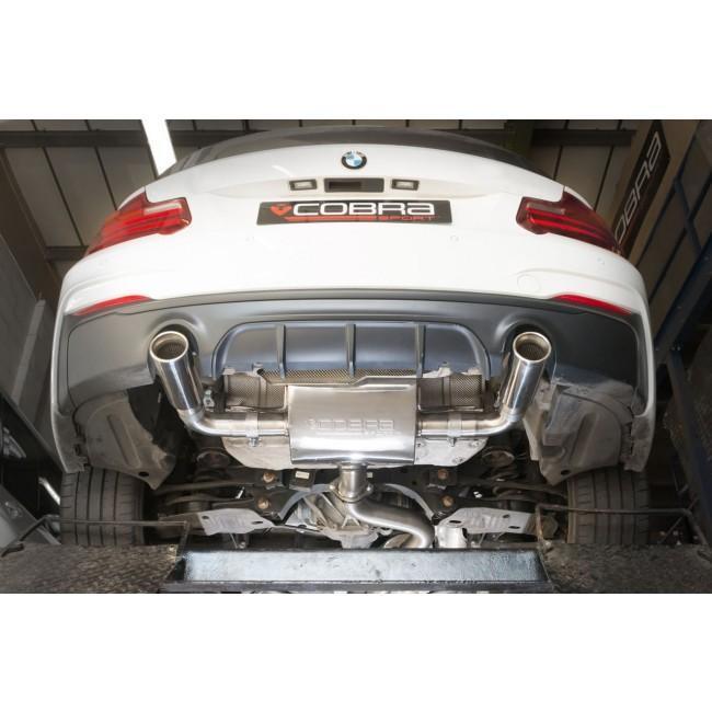 BMW M240i (F22 LCI) Cat Back Performance Exhaust