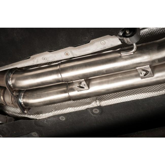 "BMW M4 (F82) Coupe 3"" Secondary De-Cat Bypass Performance Exhaust"
