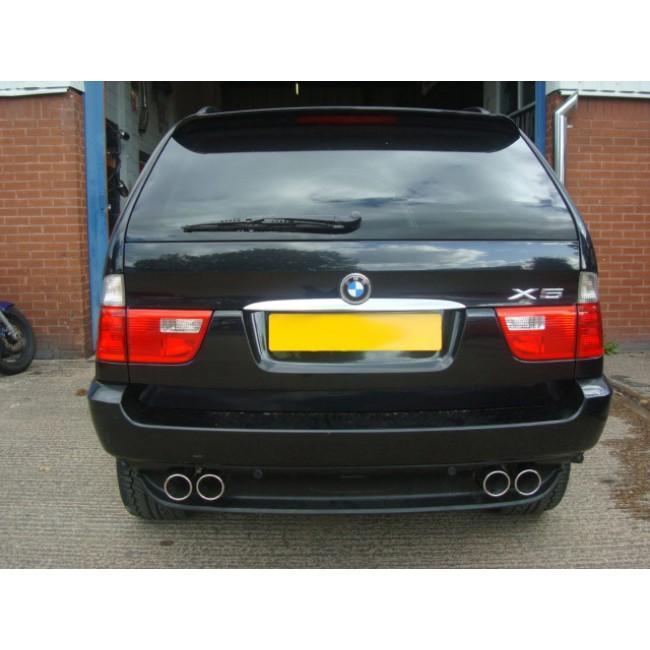 BMW X5 (E53) 3.0 Diesel Cat Back Performance Exhaust