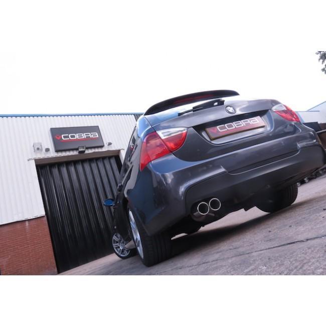 BMW 318D/320D Diesel (E90/E91) Twin Tip Performance Exhaust Rear Box