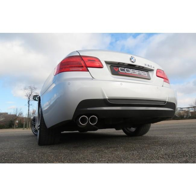 BMW 318D/320D (E92) Coupe Twin Tip Rear Box Performance Exhaust