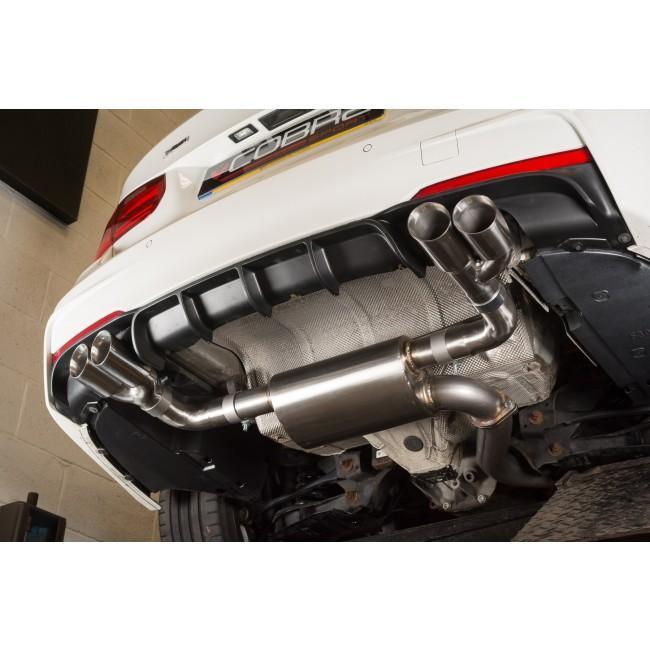 BMW 330D (F30/F31) Quad Exit M3 Style Exhaust Conversion