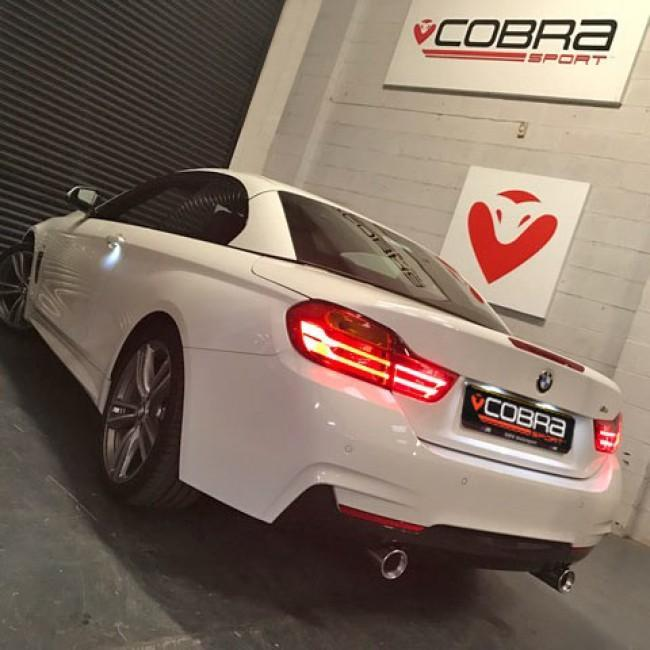 BMW 420D (F32/F33) Dual Exit 440i Style Exhaust Conversion