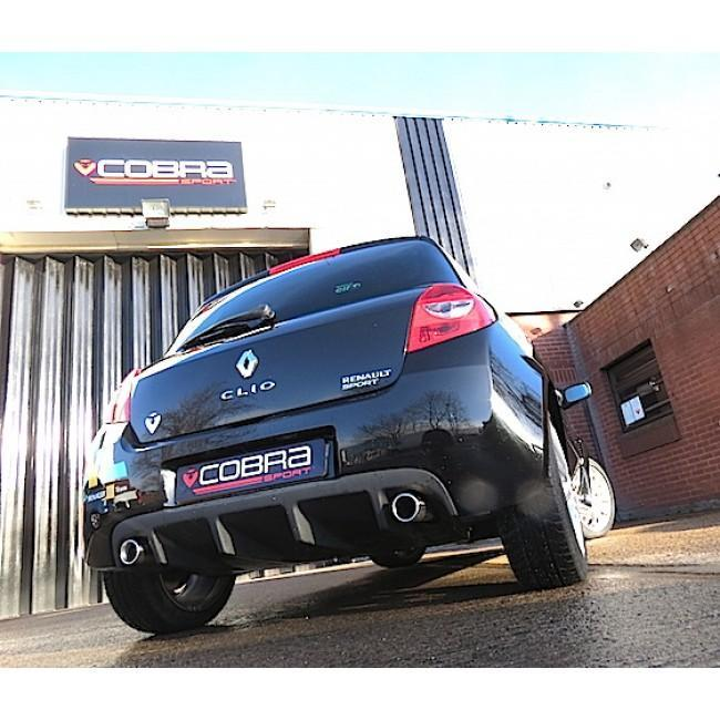 Renault Clio RS 197 (06-09) Cat Back Performance Exhaust