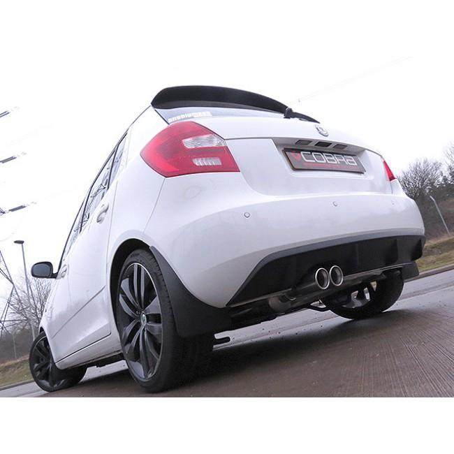 Skoda Fabia VRS 1.4 TSI (10-14) Cat Back Performance Exhaust