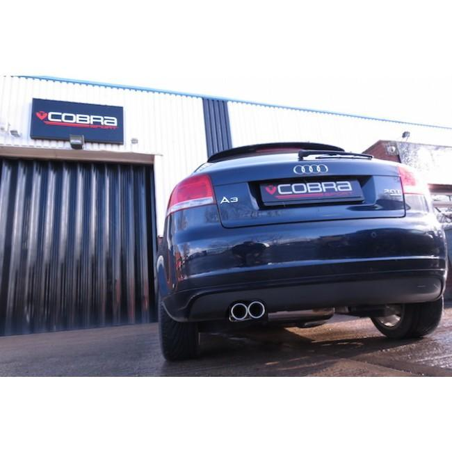 Audi A3 (8P) 2.0 TFSI Quattro (3 Door) Turbo Back Performance Exhaust
