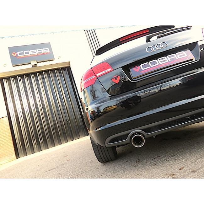 Audi A3 (8P) 2.0 TDI 2WD (2008-12) (3 Door) Single Tip Cat Back Performance Exhaust