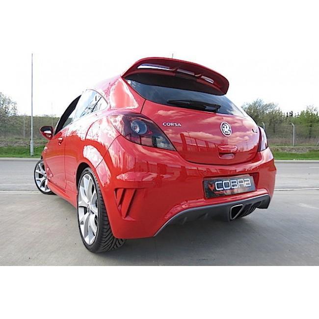 Vauxhall Corsa D VXR (10-14) Cat Back Performance Exhaust
