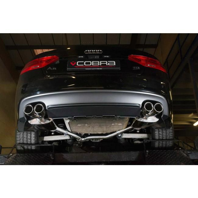 Audi A5 2.0 TDI Coupe (S-Line) Dual Exit S5 Style Performance Exhaust Conversion